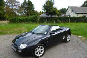 2000 MGF 1.8I STEPTRONIC AUTO IN MET ANTHRACITE/BLACK LEATHER  Photo