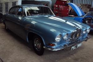 1963 MK 10 JAGUAR,3.8 TRIPLE CARB,ICE BLUE,BEAUTIFUL CAR,BARGAIN FOR SOMEONE  Photo