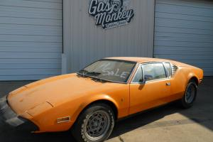 1974 DeTomaso Pantera  Barn Find Rare Factory Color Offered by Gas Monkey Garage