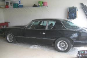 1987 Avanti sports coupe, Black, Factory hand built in South Bend Indiana.