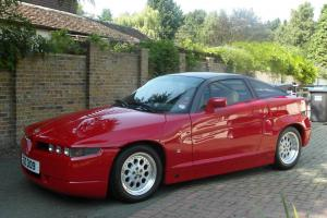 ALFA ROMEO SZ - GENUINE 4358 MILES FROM NEW - TOTALLY ORIGINAL - SHOW CONDITION