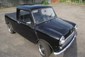 1978 LEYLAND CARS MINI PICK-UP 850 BLACK  Photo