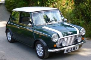 1995 ROVER MINI COOPER 1.3I GREEN/WHITE