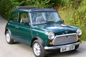 1992 Rover Mini British Open Classic On Just 7700 Miles And One Owner From New Photo