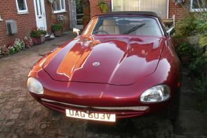 JAGUAR XJS JAGUAR AUTO, RED