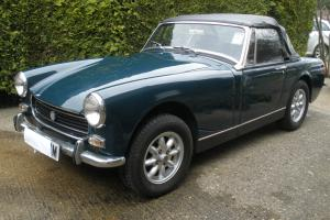 1974 MG Midget, RWA 1275cc, currently on SORN.