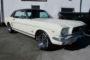 1966 FORD MUSTANG 289 CI V8 AUTOMATIC COUPE