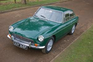 1968 MG B GT GREEN  Photo