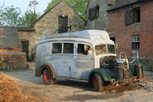 Morris Commercial Ambulance early camper conversion solid vehicle