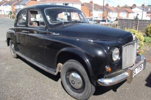 ROVER P4 90 BLACK 1956  Photo