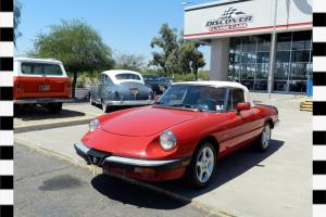 1988 ALFA ROMEO SPIDER GRADUATE 2DCV--REALLY NICE DRIVER! **WE SHIP WORLDWIDE**