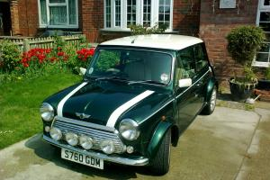 1998 ROVER MINI COOPER SPORT GREEN  Photo