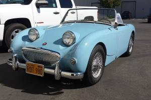 1960 Austin Healey Bug Eye Sprite
