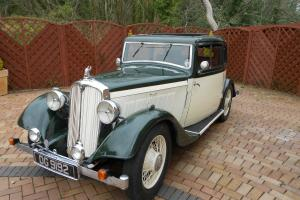 1934 ROVER 2 DOOR COUPE VERY RARE.