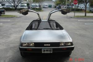 1981 DeLorean DMC 12 Base Coupe 2-Door 2.9L