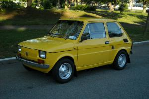 1976 Fiat 126 P - Successor of the legendary Fiat 500 - One of One -
