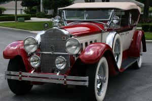 FORMER AACA NATIONAL FIRST PLACE - 1929 Packard 640 Dual Cowl Sport Phaeton