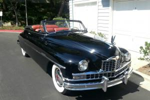 1949 Packard Deluxe Super Eight Convertible Victoria