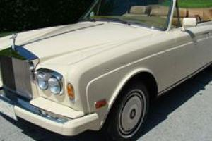 1986 Rolls Royce Corniche II Convertible Photo