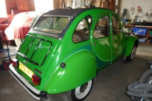 citroen 2cv left hand drive very rare model