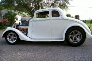 "1933 WILLYS COUPE STREET ROD BIG BLOCK CHEVY ENGINE 9"" FORD MUSCLE CAR NOT RAT"