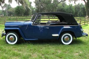 1948  Willys Overland Jeepster Concourse Restoration