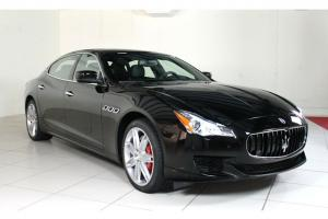 New! 2014 DEMO Quattroporte, Nero/Nero V8 lots of power!! Value price BUY NOW