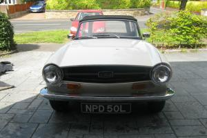 1972 L -Triumph TR6 2.5 Pi 150bhp - CP Chassis UK Car - Tax Exempt