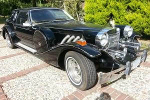 1983 Black Zimmer Golden Spirit. Classic car. Rare collectors item