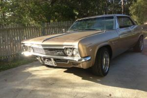 Chevrolet Impala 1966 4D Hardtop 2 SP Automatic 5 4L Carb in Hunter, NSW