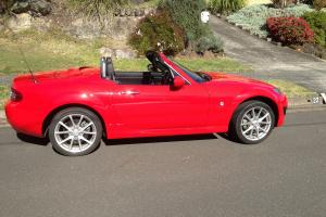 RED Mazda MX5 2010 Hard TOP Convertible Manual in Sydney, NSW