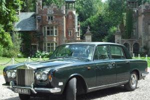 ROLLS ROYCE SHADOW Bentley BREWSTER GREEN 1971 No rusty wheel arches.