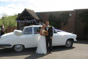 Daimler Limousine wedding car
