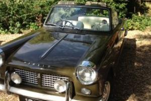 1963 triumph herald convertible  Photo