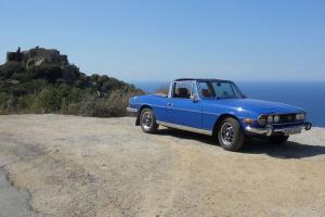 Triumph Stag Auto Tahiti Blue  Photo