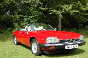 Jaguar XJS Convertible 5.3 V12 Auto 1990 Only 67,000 miles
