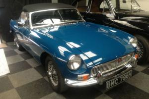 MGB ROADSTER TEAL BLUE 1970  Photo