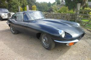 E-type Jaguar  Photo