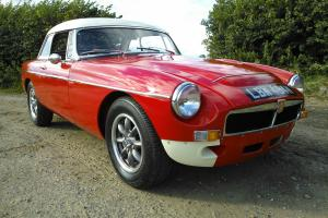 MGB Roadster, Fully restored, Sebring works replica