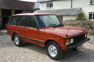 1984 Range Rover Classic - superb  Photo