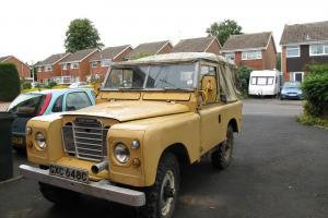 Land Rover IIA 1965 GXC648C  Photo
