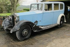 ROLLS ROYCE 20/25 Barn Find NO RESERVE