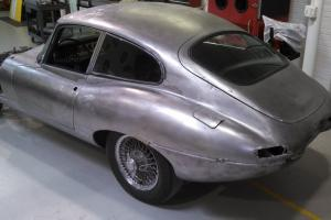 Jaguar E type 1962 rare welded louvres model, 3.8L, fantastic body, complete Photo