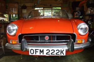 MGB ROADSTER - PROFESSIONAL RESTORATION - Colour Blaze  Photo