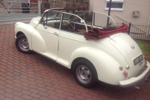 MORRIS MINOR TOURER SPLIT SCREEN 1953 FITTED WITH 1300 XFLOW