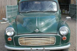 Original 1968 Green Morris Minor Pick-Up, 1098 cc