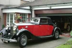 1933 ROLLS ROYCE SINGLE DROPHEAD BY PARKWARD