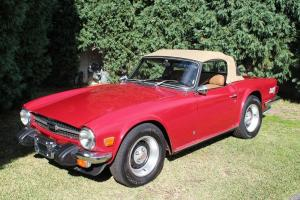 Triumph TR6 Convertable in in Hunter, NSW  Photo
