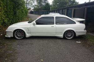1986 FORD SIERRA RS COSWORTH WHITE