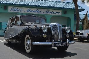 Rare Left Hand Drive Daimler UK Luxury Saloon Documentation Collector Auto Car